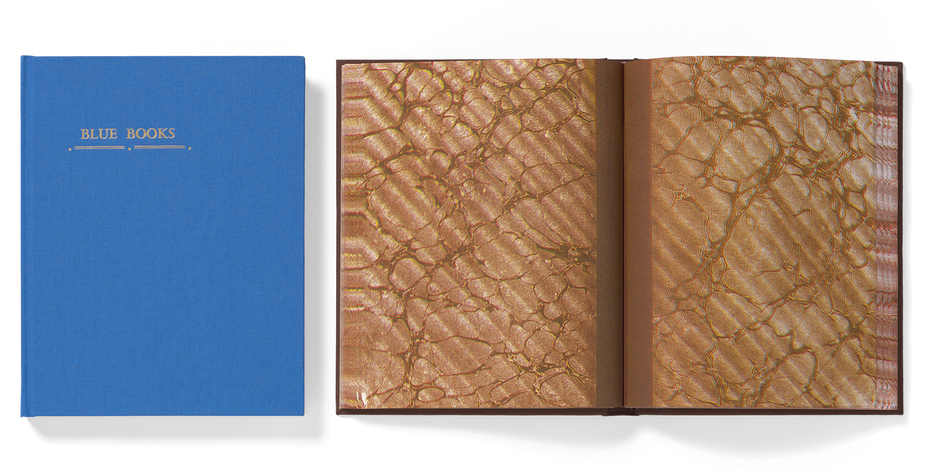 Blue and Brown Books - 2016