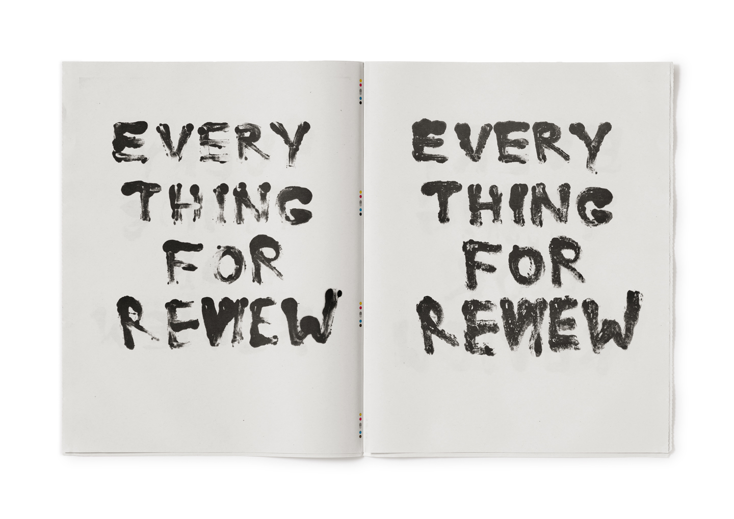Reviewing the Review, Everything for Review (Tabloid) - 2017
