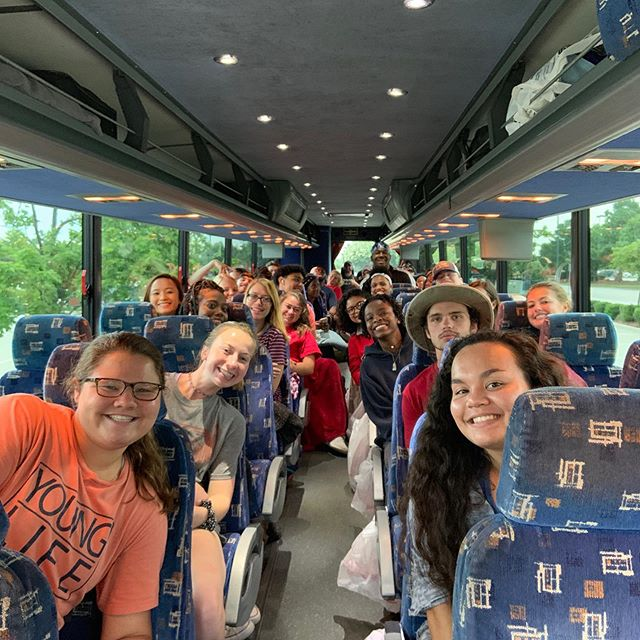 Checkout these @necolumbiayl peeps headed to @yl_rockbridge. Keep them in your prayers! It's the 6th of our 11 trips from the Midlands this summer!
