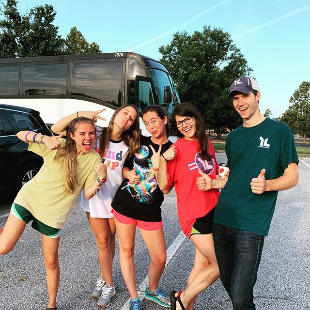 Trip 9 out of 11 left this morning! These @ylcola Wyldlife leaders are heroes! Pray for them and their middle school friends this week!