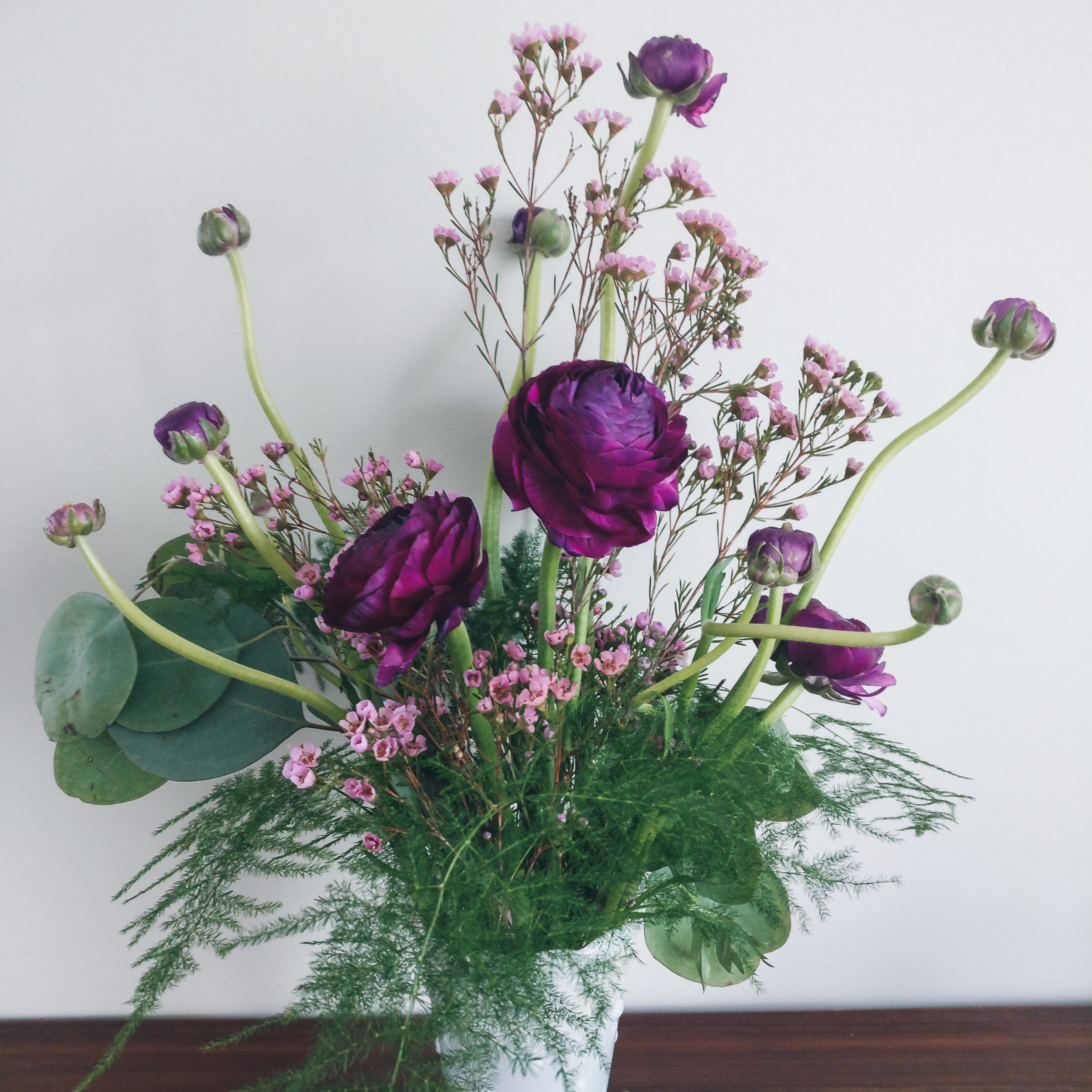 Seasonal Spring Flower - Purple Ranunculus.jpg