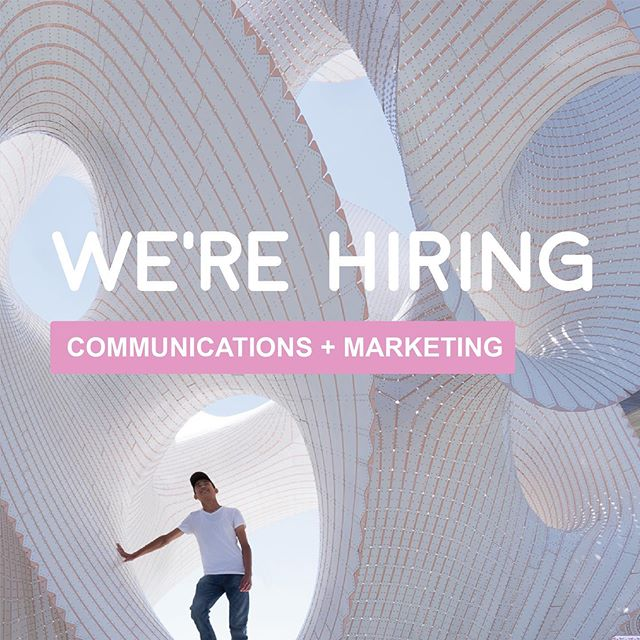 We're #hiring! Currently seeking a talented and enthusiastic candidate to handle our marking and communications efforts. This a full-time position in our Brooklyn-based studio.  Responsibilities include 🔩 managing press outreach and inquiries ▫️ responding to RFQs ▫️ writing project narratives ▫️ designing and maintaining the studio portfolio and website ▫️ creating newsletters ▫️ preparing award submissions ▫️ all amounting to a thorough understanding of the studio's body of work 📚  We are looking for someone with 🧰 a bachelors degree in architecture or a related field ▫️ previous marketing experience or similar experience working in architecture, design or art ▫️ excellent writing skills ▫️ graphic design skills ▫️ working knowledge of Adobe Creative Suite ▫️ attention to detail and the ability to work independently 🖇 welcome an interest in public art and architecture, and embrace the talents of the candidate to define other special projects 🎨  Those interested should send a cover letter and resume to theverymany.jobs@gmail.com with 'Communications Manager' in the subject line 📧 . . . 📸 by @studio_naaro #job #architecture #art #design @archinectjobs @dezeenjobs #architecturejobs #nyc