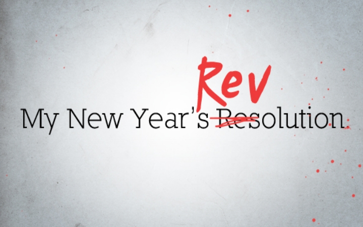My New Year's Revolution