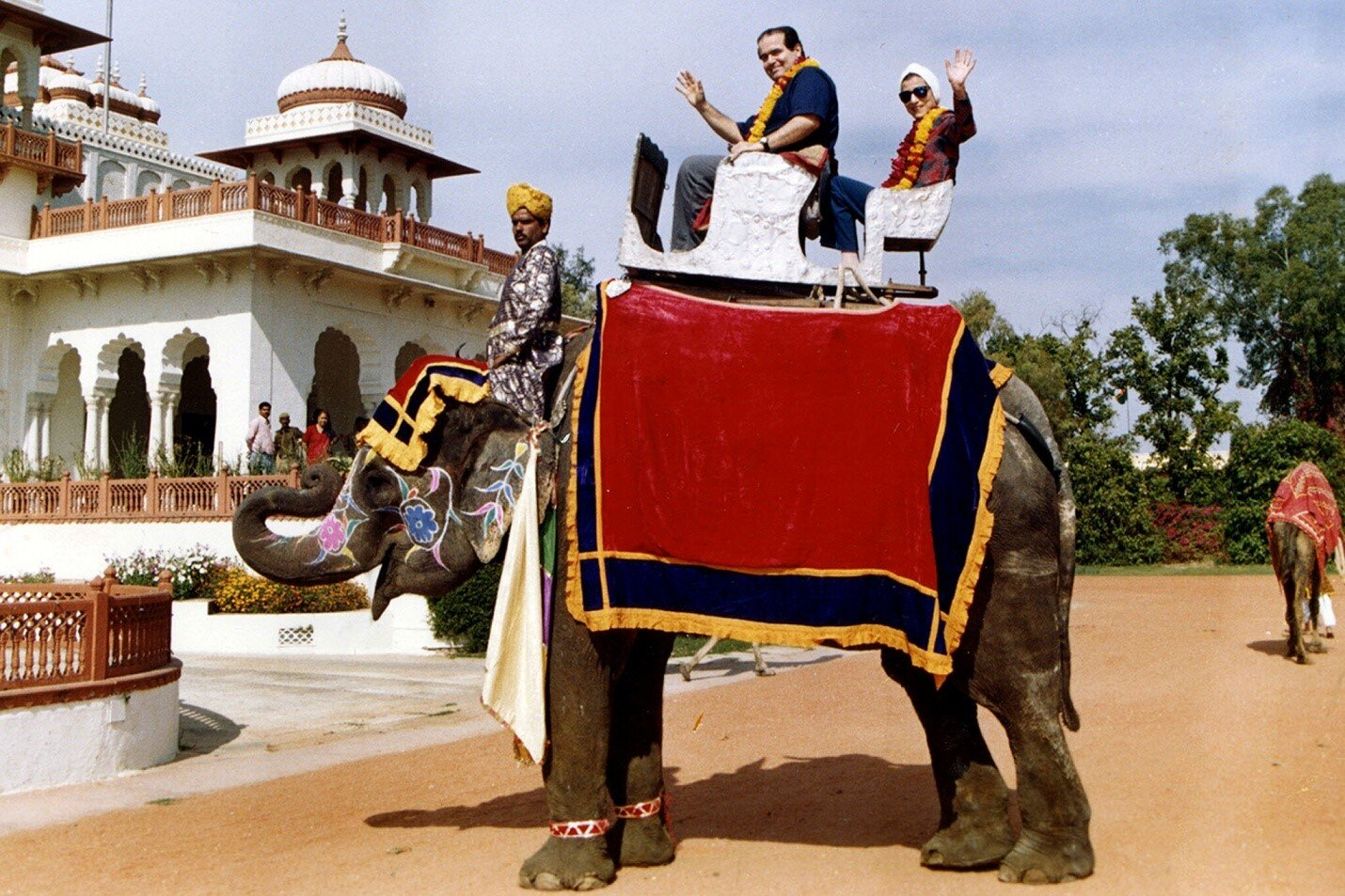 Ruth Bader Ginsburg and Antonin Scalia in Rajasthan, India, in 1994. Credit Collection of the Supreme Court of the United States, via Associated Press.