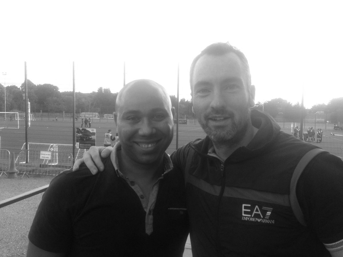 """With former Manchester City player Jeff Whitely discussing his life with charity """"Sporting Chance"""""""