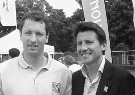 Working with Seb Coe pre 2012 Olympic Games