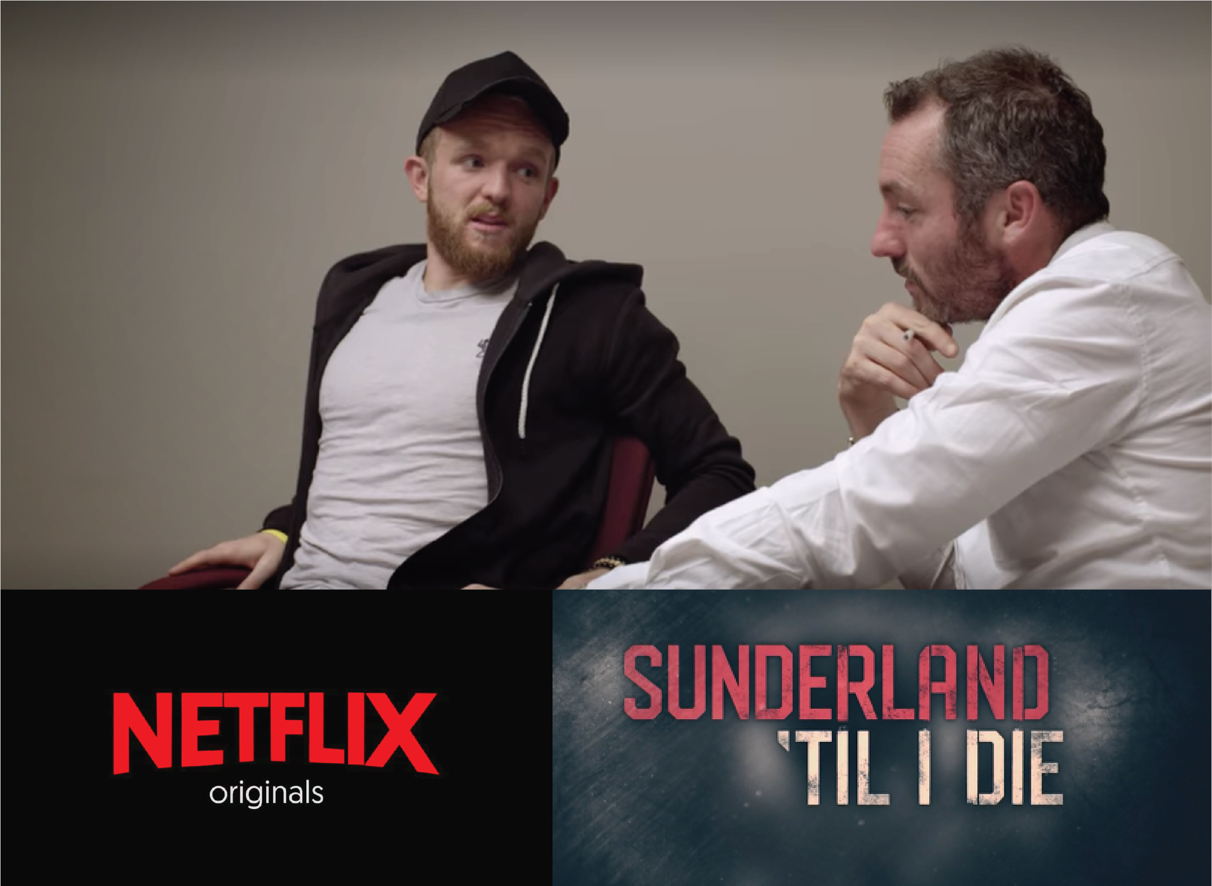 """Sallis appears in this Netflix series """"Sunderland til I Die"""". Here he is seen mentoring Wales international football player Jonny Williams overcome stress from performance and injury. Link here:  https://www.netflix.com/gb/"""
