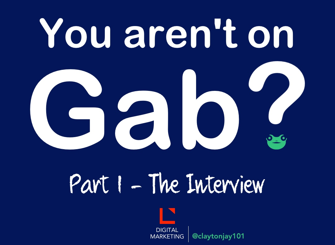 New social network Gab is similar to Twitter and can be found at www.gab.ai
