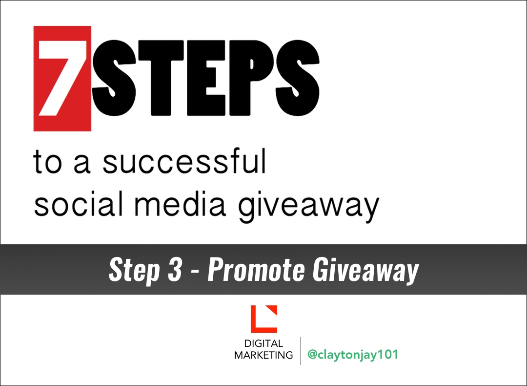 7 steps to a successful social media giveaway step 3