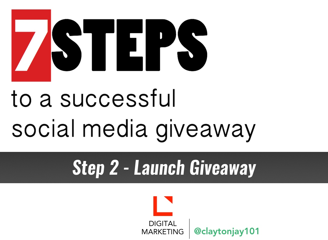 Picture for 7 steps to a successful social media giveaway - step 2