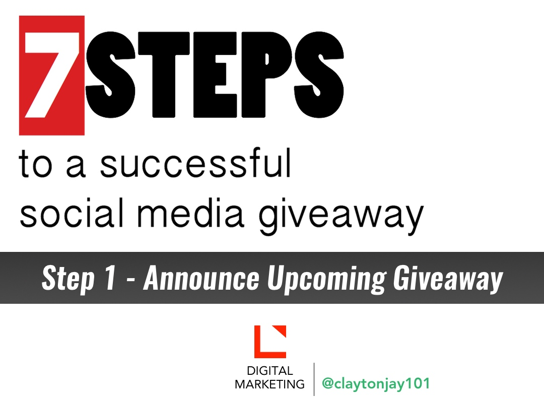 7 steps to a successful social media giveaway step 1