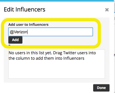 How to setup a Hootsuite Twitter Stream for competitor or company mentions on social media 2-7