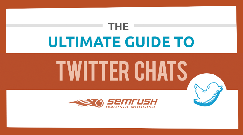 SEMRush picture on blog post about social media Twitter chats