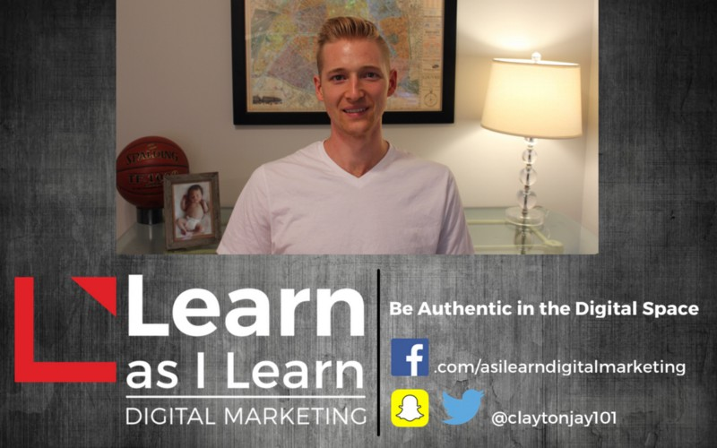 Learn as I Learn digital marketing to be authentic in the digital space
