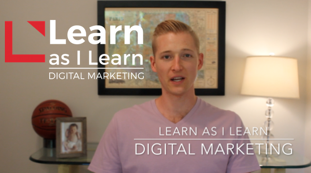 Header image for Learn as I Learn Digital Marketing