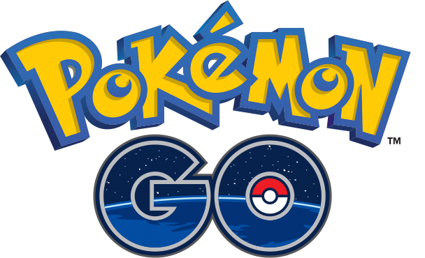 Pokemon GO logo for the iphone app video game