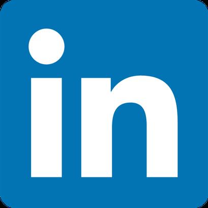 Social network LinkedIn logo