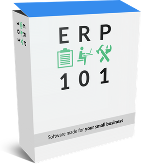 Software box for erp 101 business applications