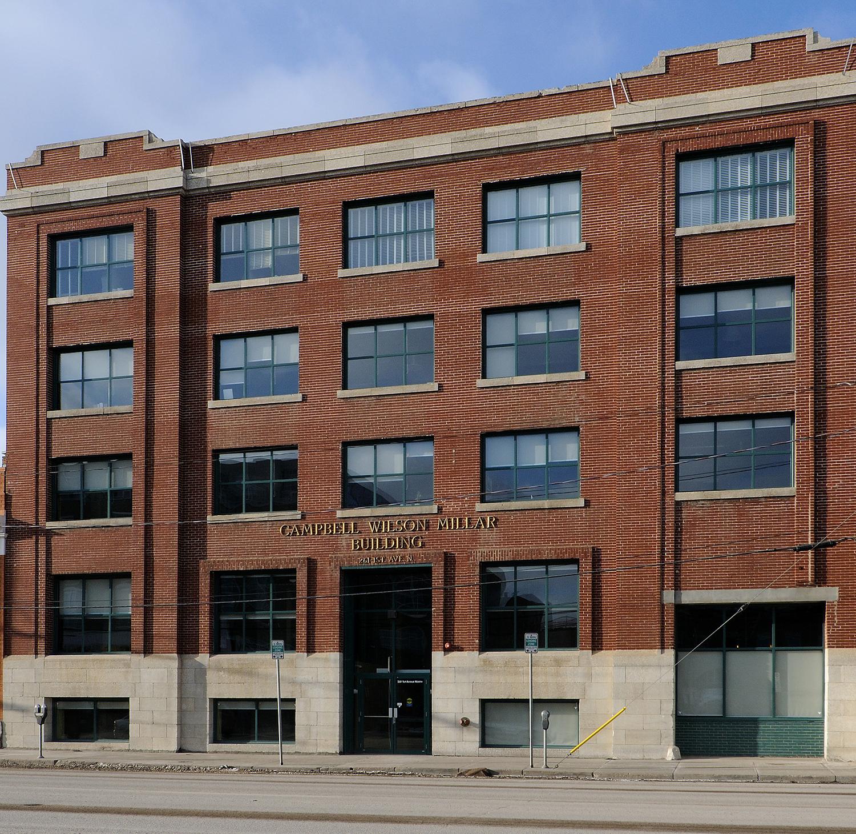 Our offices at 261 1st Ave North, Saskatoon, Saskatchewan