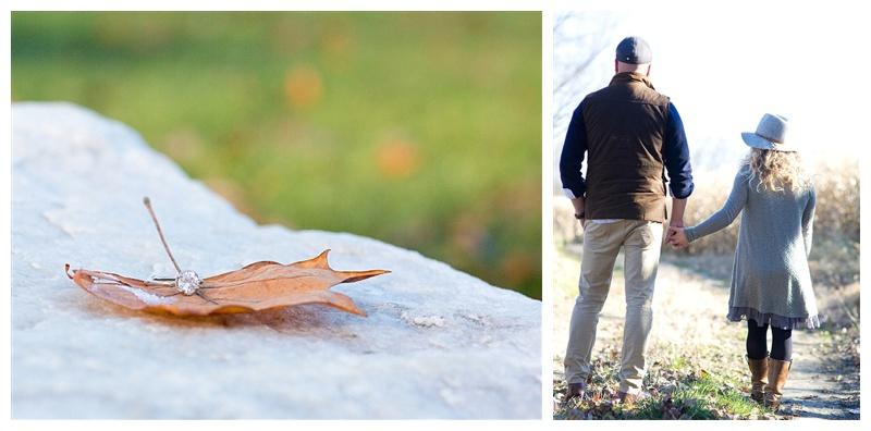 An autumn engagement