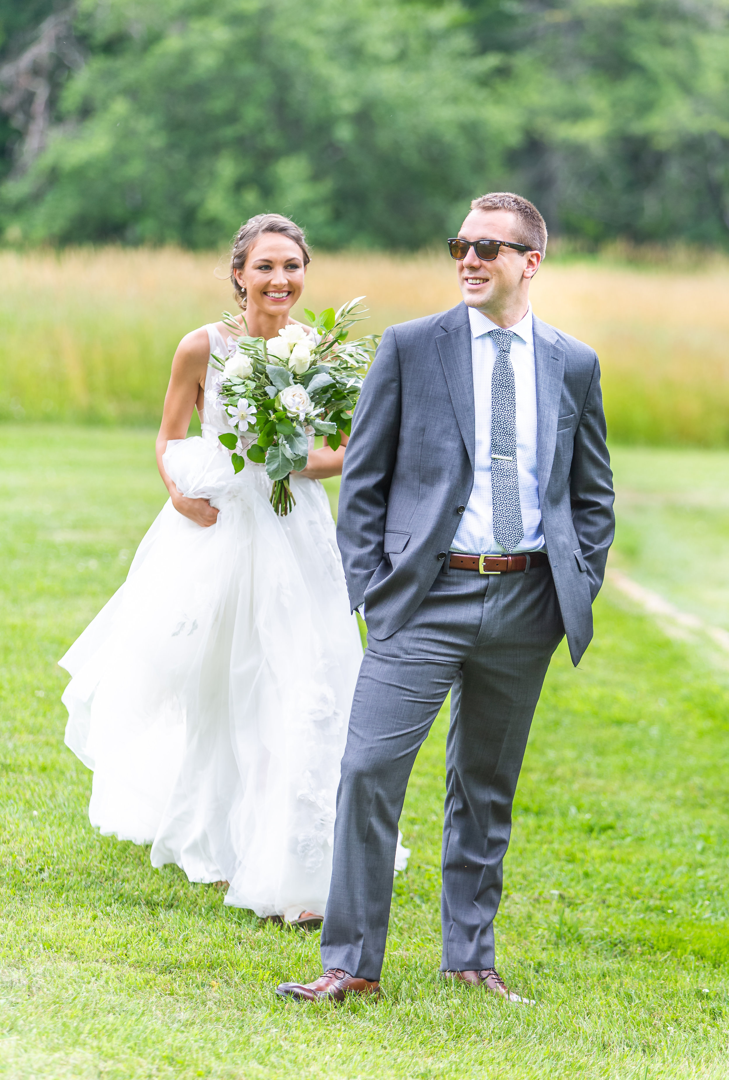 Summer Wedding at Gedney Farm in New Marlborough, MA, Sophia House and Kellen Muldoon are married on July 6th, 2019.