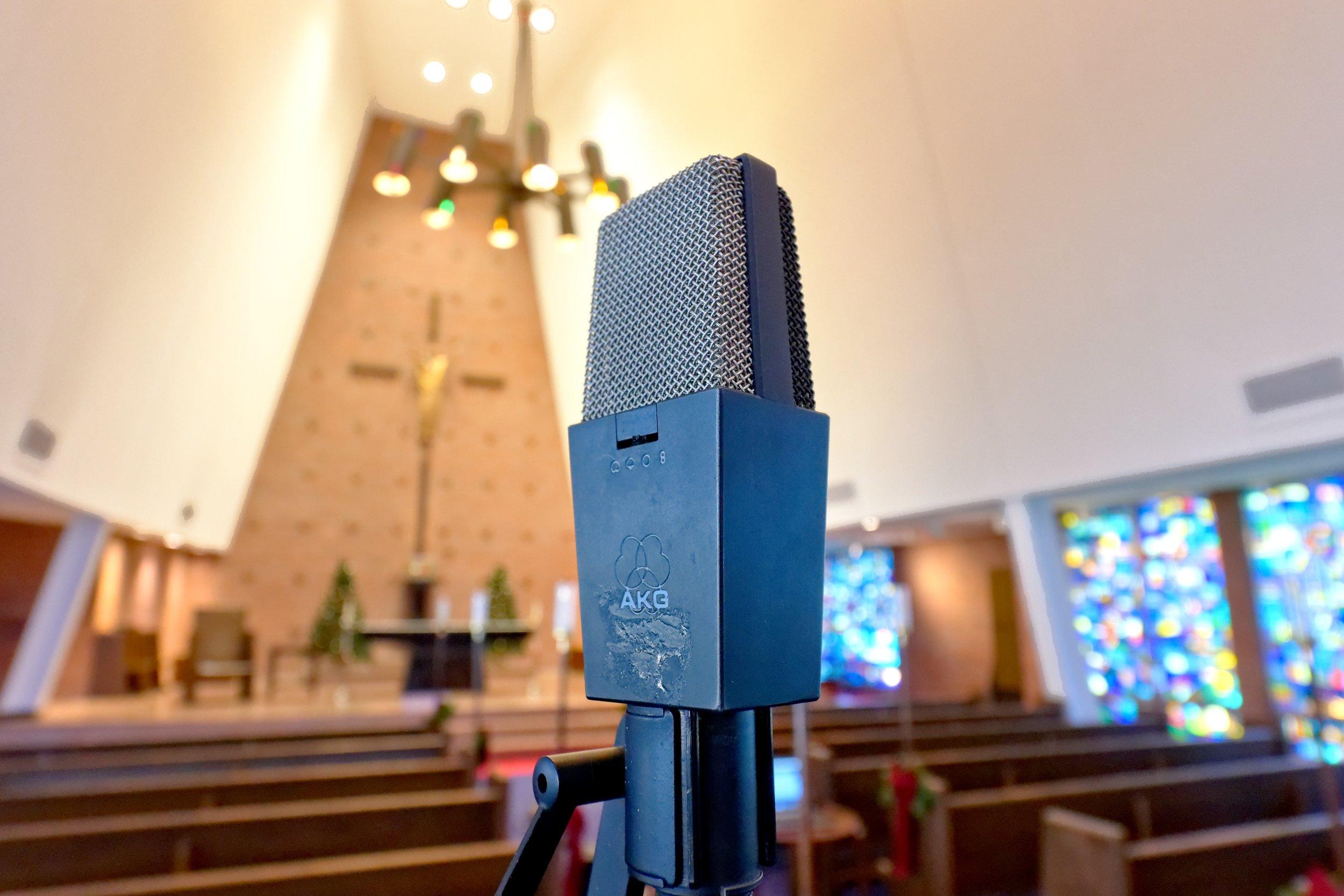 AKG C414 BULS condenser mics
