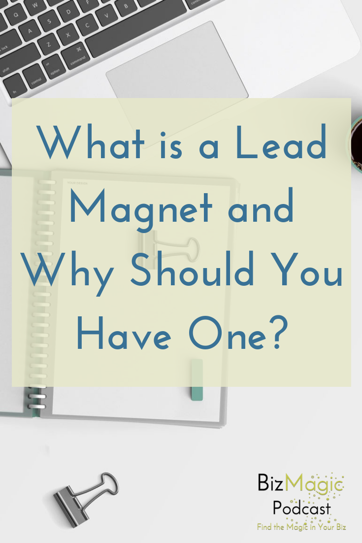 BizMagic Podcast Episode 14: What is a Lead Magnet and Why Should You Have One?