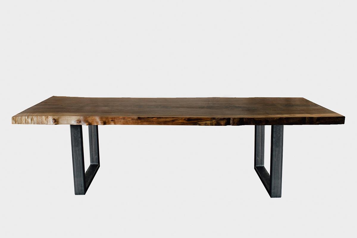 Black Walnut Slab Table