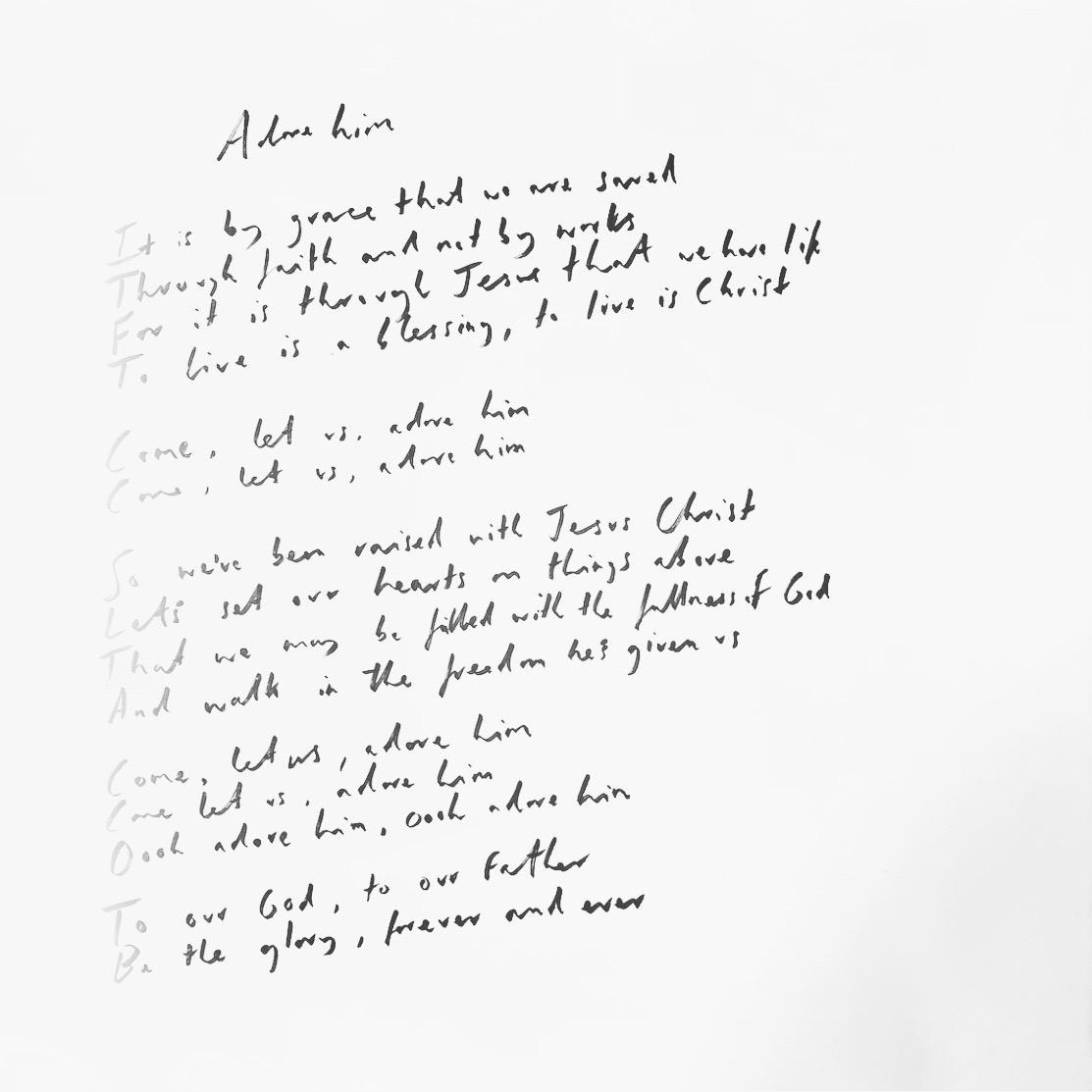 Handwritten Adore Him.JPG