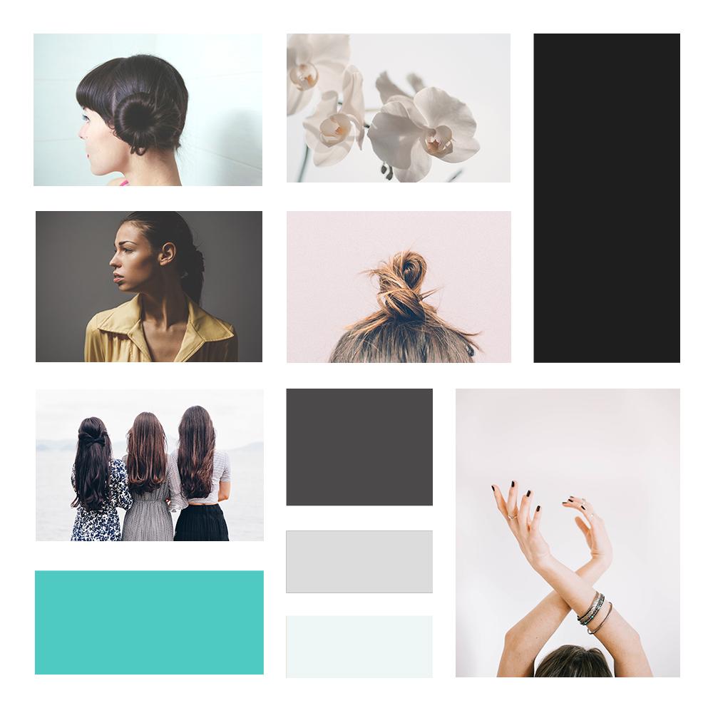 absolute hair salon website design