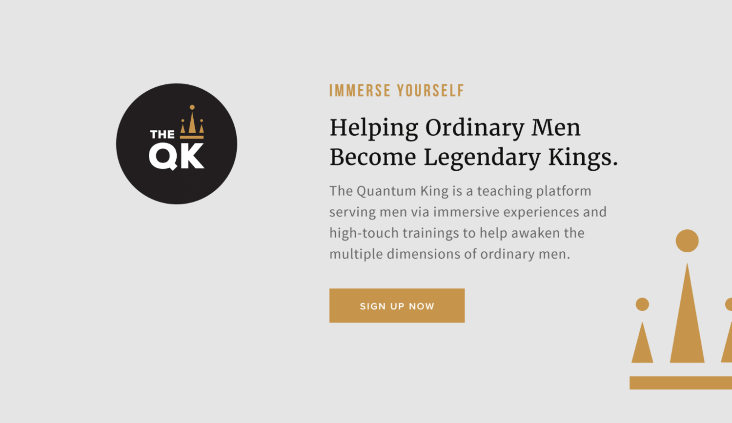 quantum king brand design by Function Creative Co.