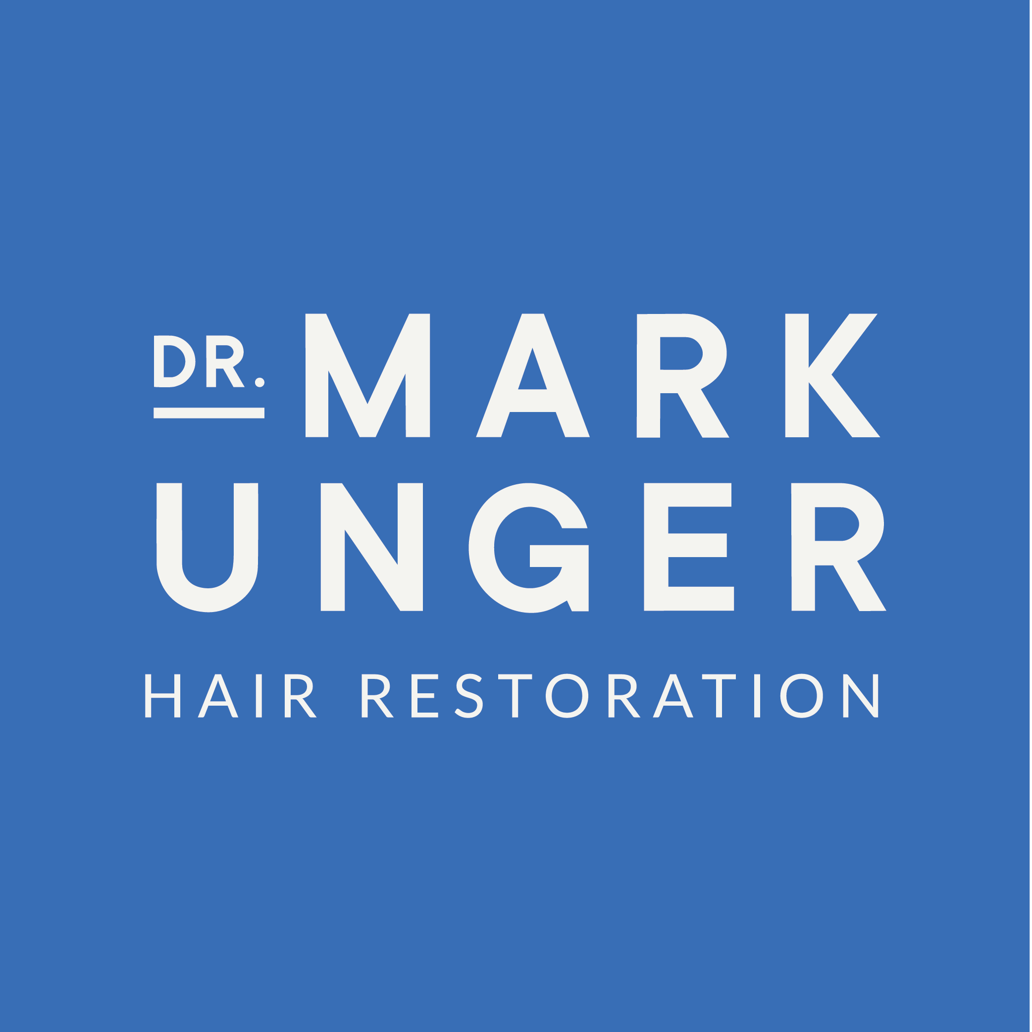 hair restoration brand design by Function Creative Co.