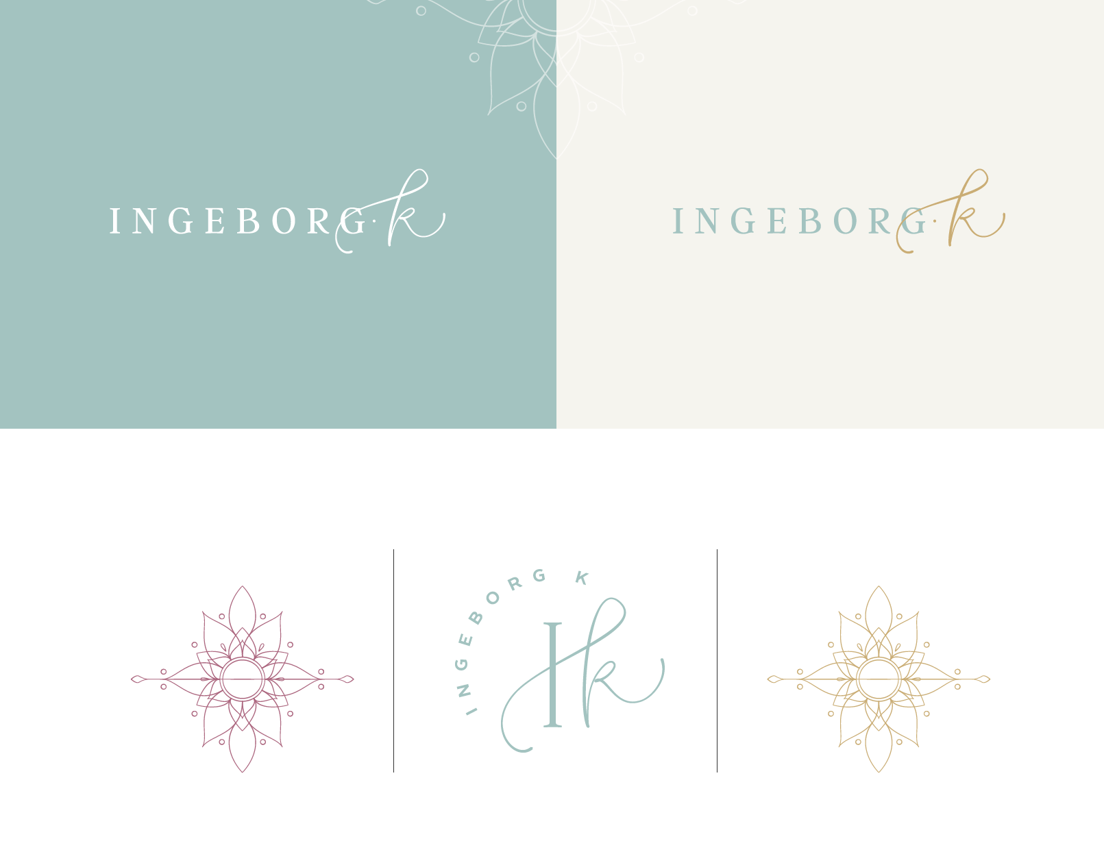 yoga instructor brand design by Function Creative Co.