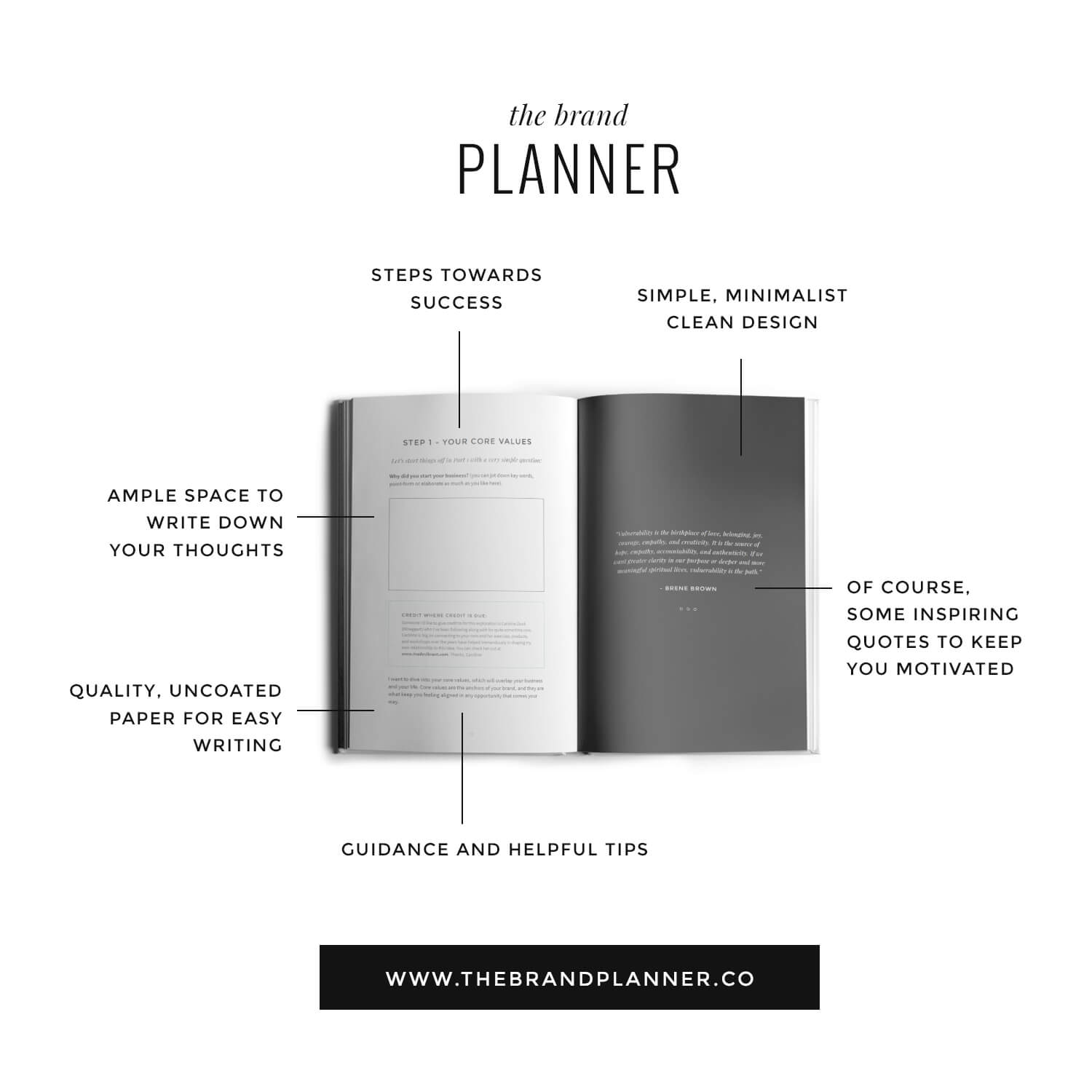 brand guide for brand clarity and business direction by Function Creative Co.