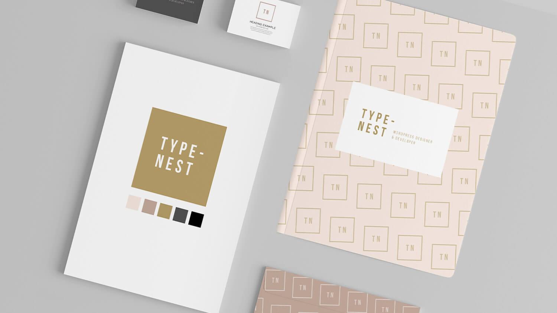 typenest wordpress developer brand styling design