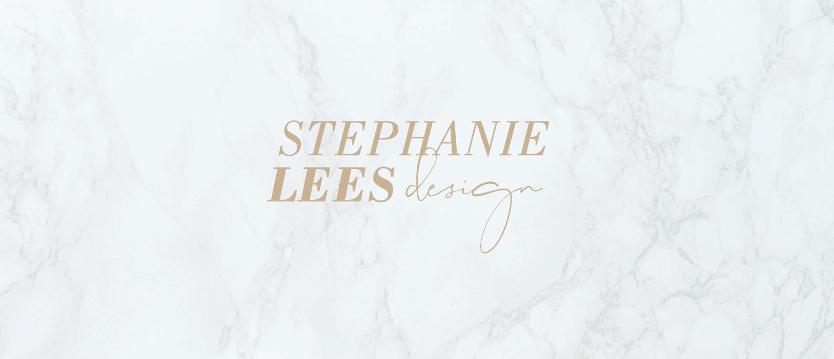 stephanie lees design interior design brand logo