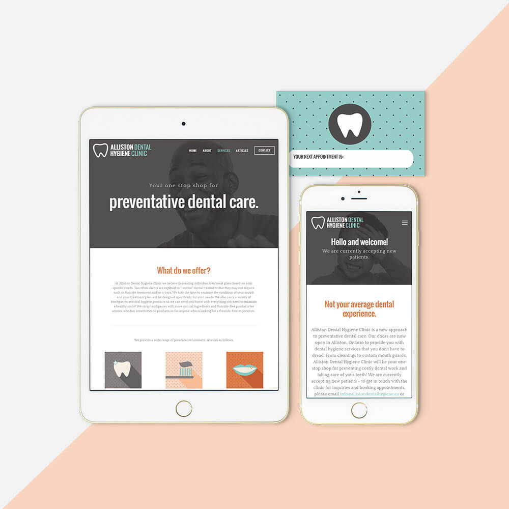 alliston-dental-brand-identity-web-design