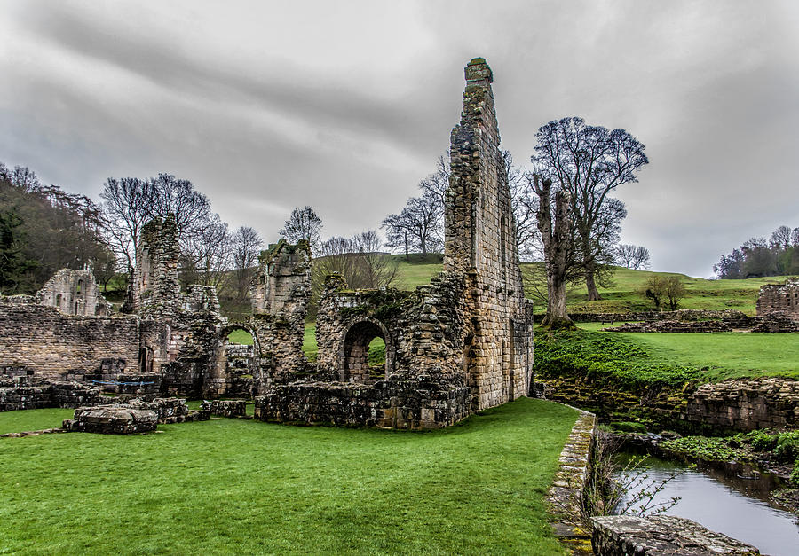 More Ruins at Fountains Abbey, North Yorkshire.