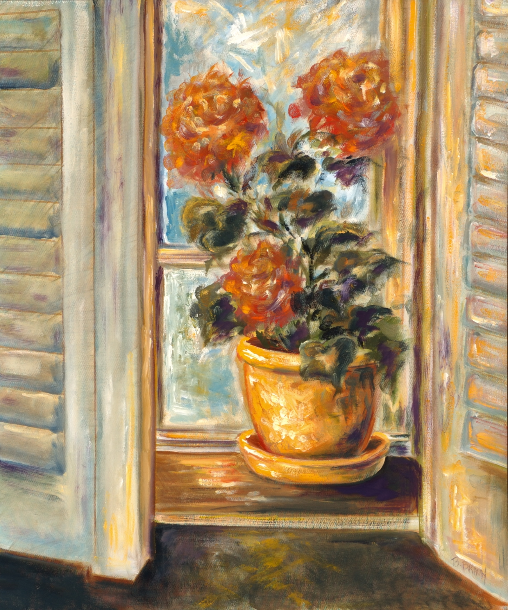 IN THE WINDOW - SOLD