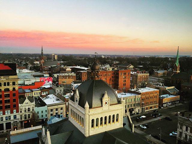 Lexington, KY at daybreak
