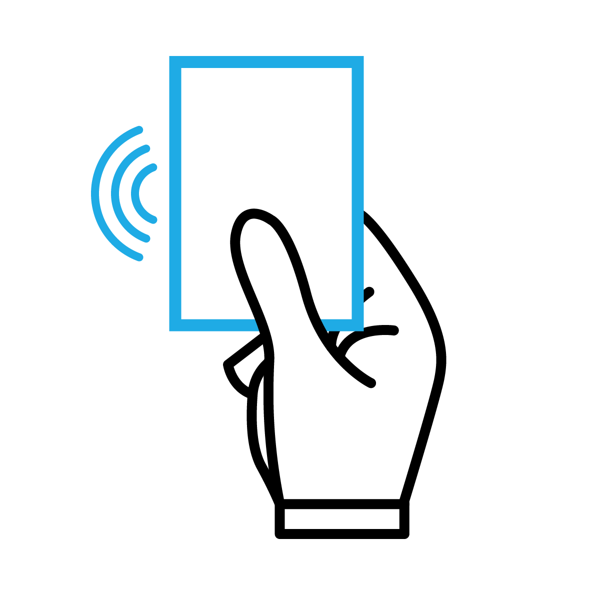 Step 2: Thanks to the RFID chip, the Welcome Card can be carried by its owner to be utilized for community activities and publicly available services, where its internal programming makes it unique and safe to use.