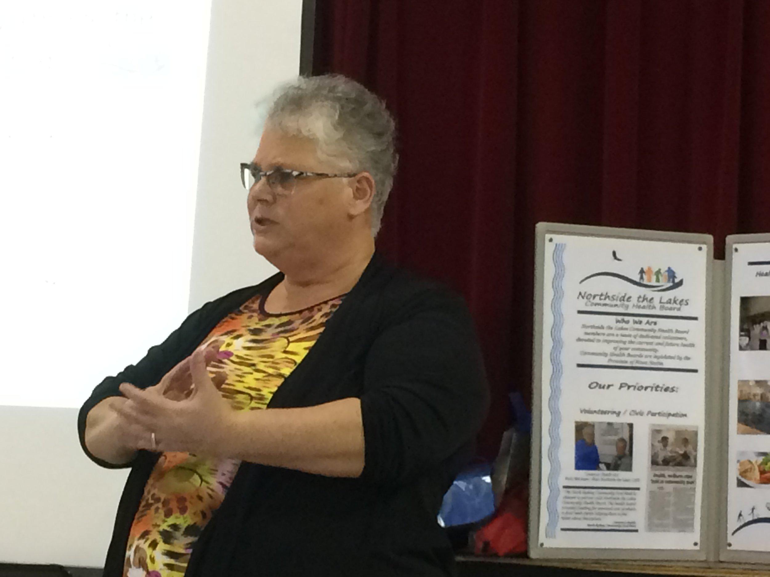 Carol speaking at Eskasoni event.jpg