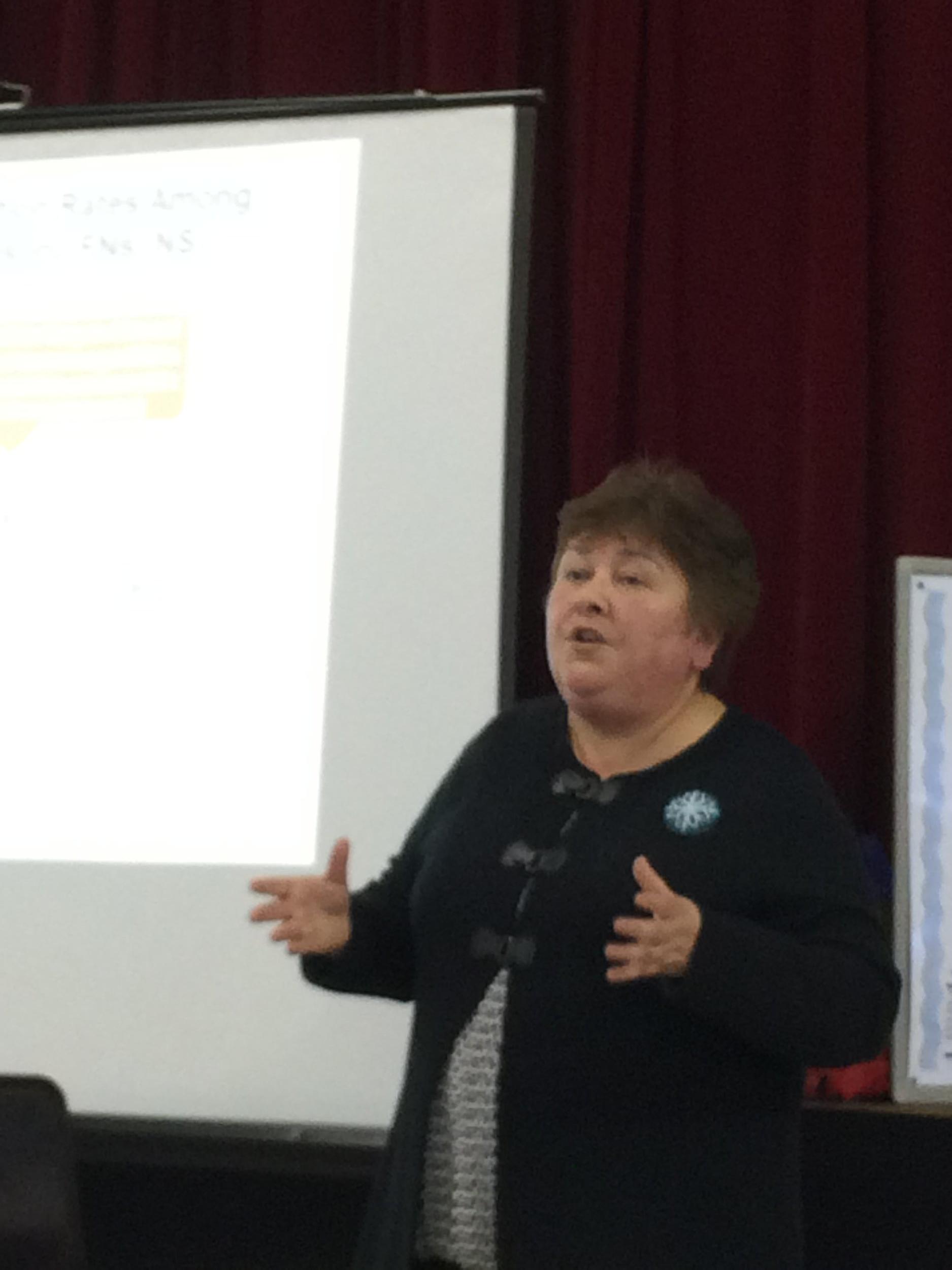 Sharon Rudderham, Eskasoni First Nation