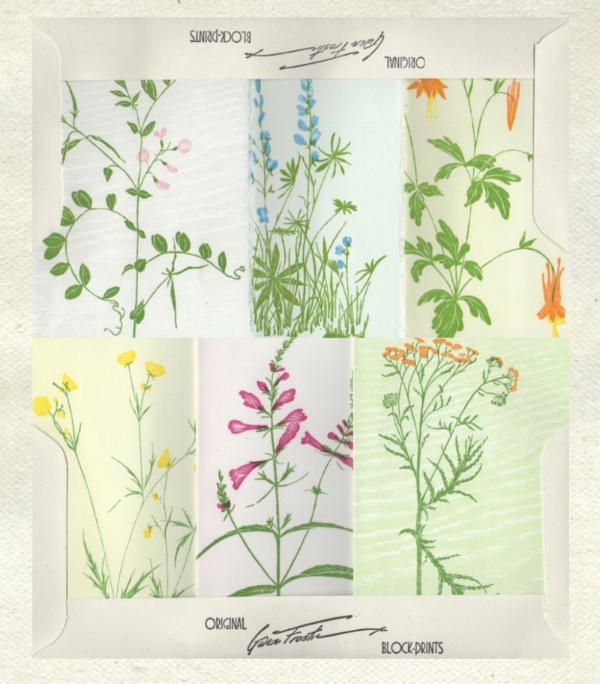 Little portfolio of 6 cards. See more of Gwen's work on the studio  site.