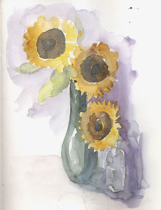 coco-connolly-3-sunflowers-green-vase-watercolor-study.jpg