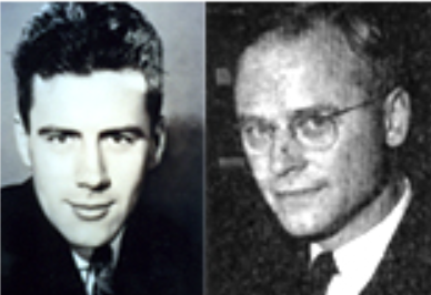 Edwin Newman and Fredrick H. Lewis, Psi Chi cofounders