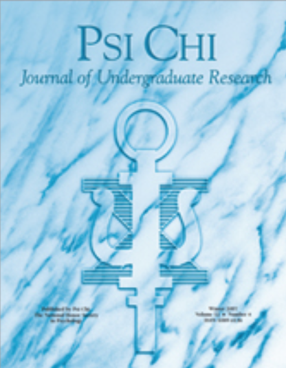 The Psi Chi Journal of Undergraduate Research