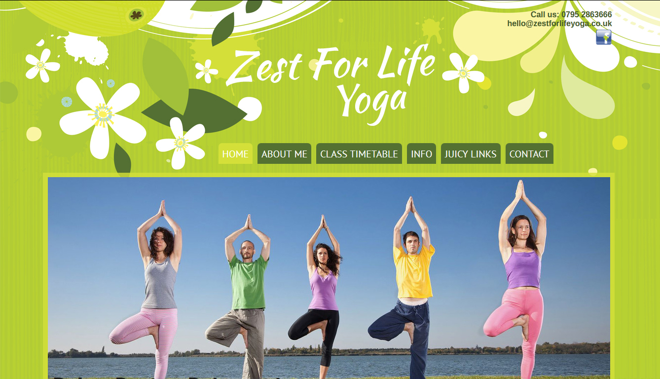 Zest For Life Yoga