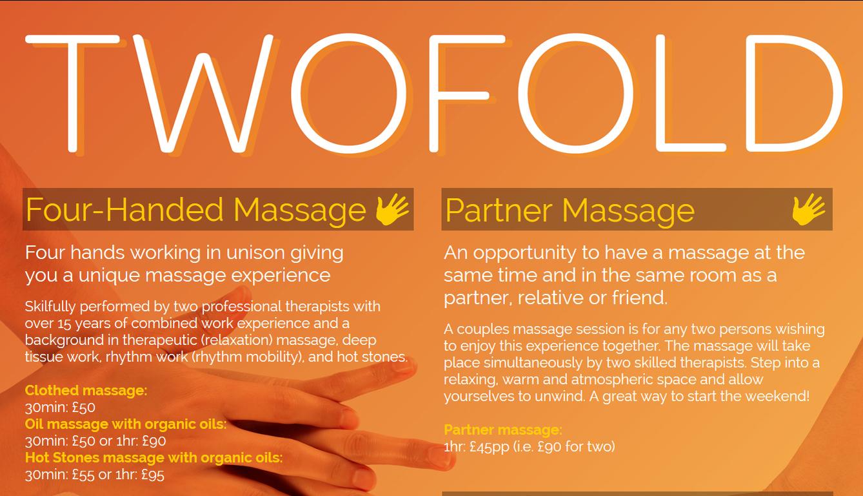 Twofold Massage