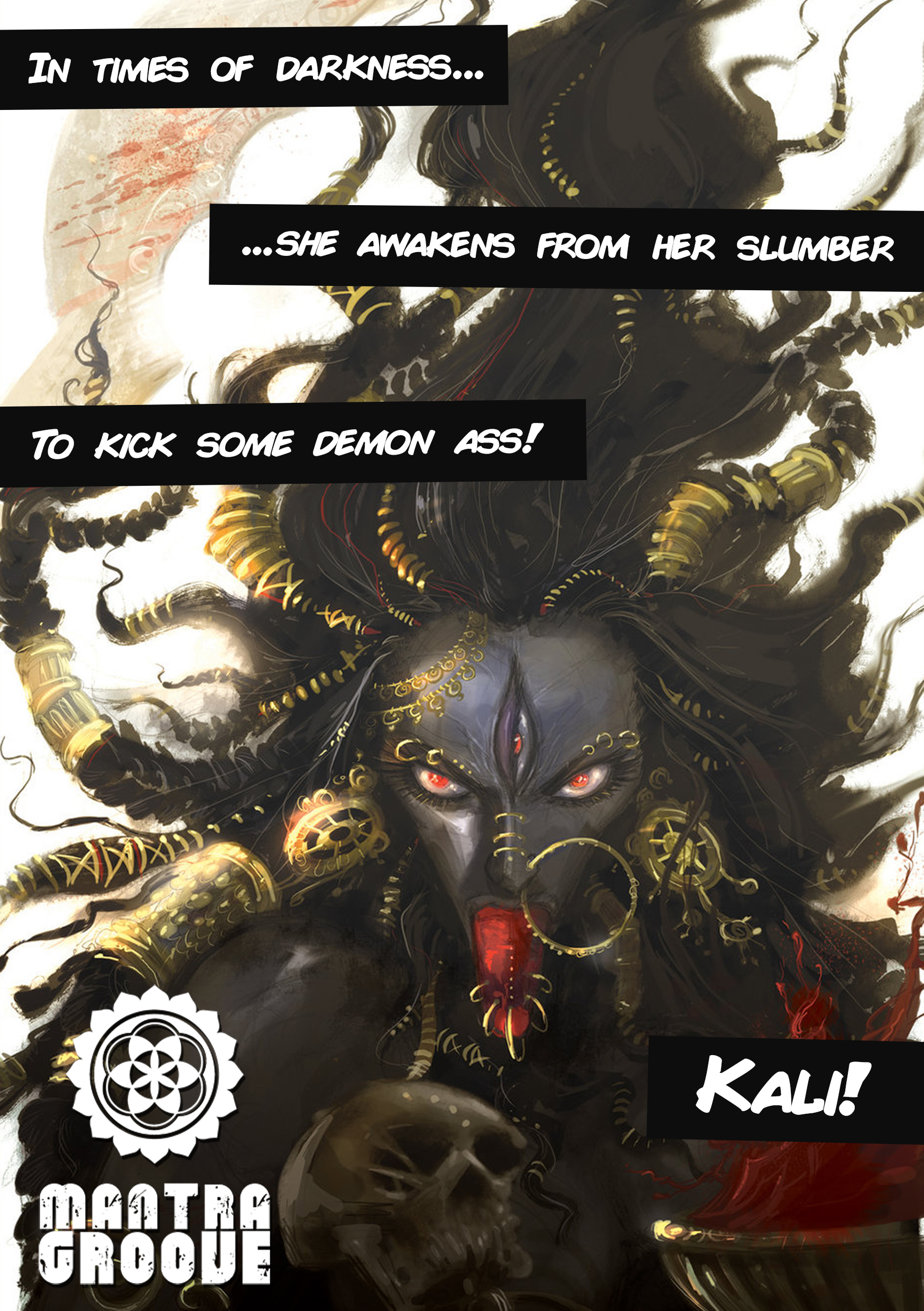 Mantra Groove Kali's The Awakening of Kali Front
